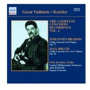 Fritz Kreisler: Bruch / Brahms: Violin Concertos (Kreisler) (1925, 1936) - CD