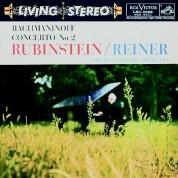 Arthur Rubinstein, Fritz Reiner, Chicago Symphony Orchestra: Rachmaninov,: Piano Concerto No. 2 (200 g.) - Plak