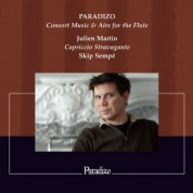 Julien Martin: Paradizo - Consort Music & Airs for The Flute - CD