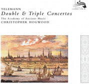 Christopher Hogwood, The Academy of Ancient Music: Telemann: Double & Triple Concertos - CD