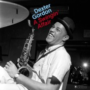 Dexter Gordon: A Swingin' Affair + 1 Bonus Track! (Images By Iconic Jazz Photographer Francis Wolff) - Plak