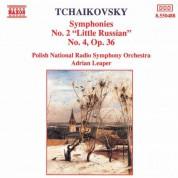 Tchaikovsky: Symphonies Nos. 2 and 4 - CD