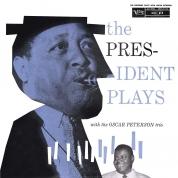 Oscar Peterson Trio, Lester Young: The President Plays With The Oscar Peterson Trio - Plak