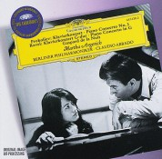 Berliner Philharmoniker, Claudio Abbado, Martha Argerich: Ravel/ Prokofiev: Piano Concertos - CD