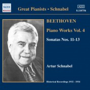 Beethoven: Piano Sonatas Nos. 11-13 (Schnabel) (1932-1934) - CD