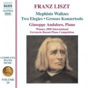 Giuseppe Andaloro: Liszt: Mephisto Waltzes / 2 Elegies / Grosses Konzertsolo - CD