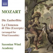 Saxonian Woodwind Academy: Mozart, W.A.: Magic Flute (The) / La Clemenza Di Tito (Arr. for Wind Ensemble) - CD