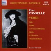 Ponselle, Rosa: Rosa Ponselle Sings Verdi (1918-1928) - CD