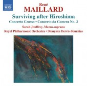 Dionysios Dervis-Bournias: Maillard: Surviving after Hiroshima - CD
