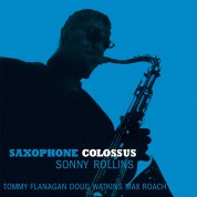 Sonny Rollins: Saxophone Colossus. Limited Edition in Transparent Blue Virgin Vinyl. - Plak