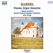 Johann Aratore: Handel: Famous Organ Concertos - CD