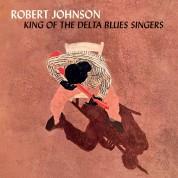 Robert Johnson: King Of The Delta Blues Singers + 2 Bonus Tracks! Limited Edition in Solid Orange Virgin Vinyl. - Plak