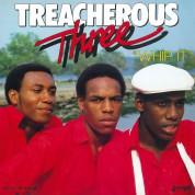 Treacherous Three: Whip It  (Red Vinyl) - Plak