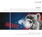 Édua Zádory: Heavy - Werke für Violine - CD