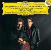 London Symphony Orchestra, Michael Tilson Thomas, Mischa Maisky: Shostakovich: Cello Concertos 1 + 2 - CD