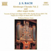 Bach, J.S.: Kirnberger Chorales and Other Organ Works, Vol. 2 - CD