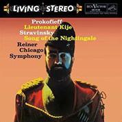 Chicago Symphony Orchestra, Fritz Reiner: Prokofiev: Lieutenant Kije, a.o. works (200g-edition) - Plak