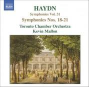 Haydn: Symphonies, Vol. 31 (Nos. 18, 19, 20, 21) - CD