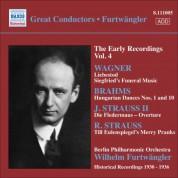 Wilhelm Furtwängler: Wagner / Brahms / J. Strauss II / R. Strauss - CD