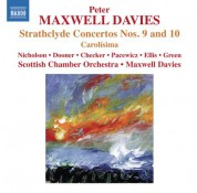 Sir Peter Maxwell Davies, Scottish Chamber Orchestra: Maxwell Davies: Strathclyde Concertos Nos. 9 & 10 - CD
