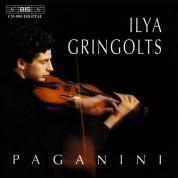 Ilya Gringolts: Paganini - Ilya Gringolts, violin - CD