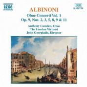 Anthony Camden: Albinoni: Oboe Concertos, Vol.  1 - CD