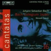 Bach Collegium Japan, Masaaki Suzuki: J.S. Bach: Cantatas, Vol. 16 (BWV 194, 119) - CD
