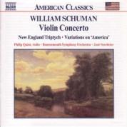 José Serebrier: Schuman, W.: Violin Concerto / New England Triptych - CD