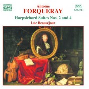Forqueray: Harpsichord Suites Nos. 2 and 4 - CD
