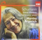 Martha Argerich: Scumann: Scènes D'enfants, Concerto pour piano - CD