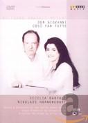Cecilia Bartoli, Nikolaus Harnoncourt: Mozart: Don Giovanni / Cosi fan tutte - DVD