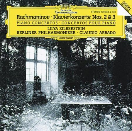 Berliner Philharmoniker, Claudio Abbado, Lilya Zilberstein: Rachmaninov: Piano Concerto 2, 3 - CD