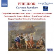Prague Chamber Orchestra: Philidor, F-A.D.: Carmen Saeculare / Overtures - CD