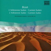 Philharmonia Cassovia: Bizet: L'Arlesienne Suites Nos. 1 and 2 / Carmen Suites Nos. 1 and 2 - CD