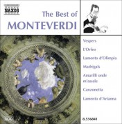 Çeşitli Sanatçılar: Monteverdi (The Best Of) - CD