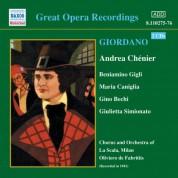 Giordano: Andrea Chenier (Gigli, Caniglia) (1931) - CD