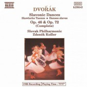 Dvorak: Slavonic Dances, Opp. 46 and 72 - CD
