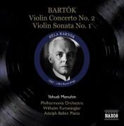 Yehudi Menuhin: Bartok, B.: Violin Concerto No. 2 / Violin Sonata No. 1 (Menuhin) (1947, 1953) - CD