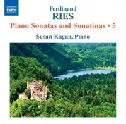 Susan Kagan: Ries: Piano Sonatas and Sonatinas, Vol. 5 - CD