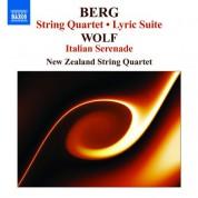 New Zealand String Quartet: Berg: String Quartet / Lyric Suite / Wolf: Italian Serenade - CD
