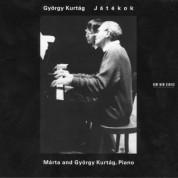 Marta Kurtag, György Kurtág: Jatekok - CD