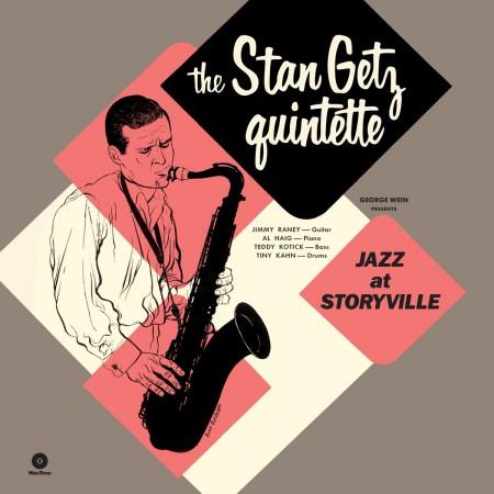 Stan Getz: Jazz At Storyville +5 Bonustracks - Plak
