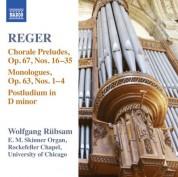 Wolfgang Rubsam: Reger: Organ Works, Vol. 15 - CD