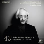 Bach Collegium Japan, Masaaki Suzuki: J.S. Bach: Cantatas, Vol. 43 - SACD