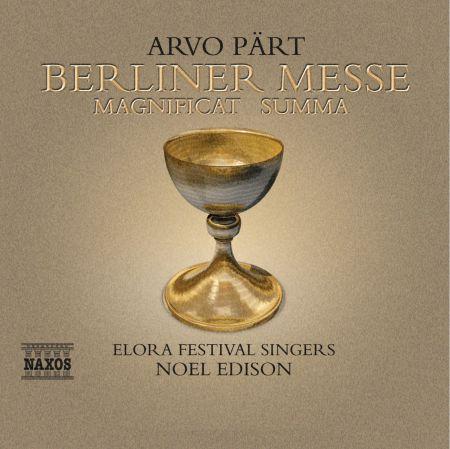Part: Berliner Messe / Magnificat / Summa - CD