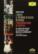 Monteverdi-Ensemble des Opernhauses, Nikolaus Harnoncourt, Chor des Opernhauses Zürich: Monteverdi: Opera Box - DVD