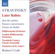 Robert Craft: Stravinsky: Later Ballets - CD