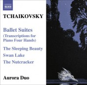 Aurora Duo: Tchaikovsky: Ballet Suites (Transcriptions for Piano 4 Hands) - CD