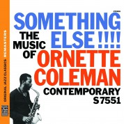 Ornette Coleman: Something Else!!! the Music of Ornette Coleman (OJC Remasters) - CD