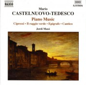 Jordi Masó: Castelnuovo-Tedesco: Piano Music - CD